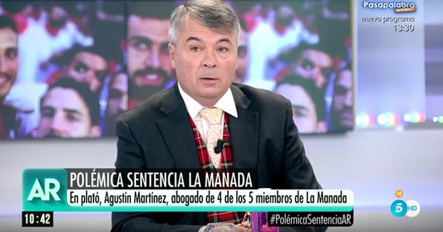 Entrevista a Agustín Martínez Becerra, el abogado de 'La Manada'