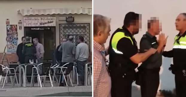Vecinos de Cádiz impiden conducir a un guardia civil en estado ebrio [Vídeo]