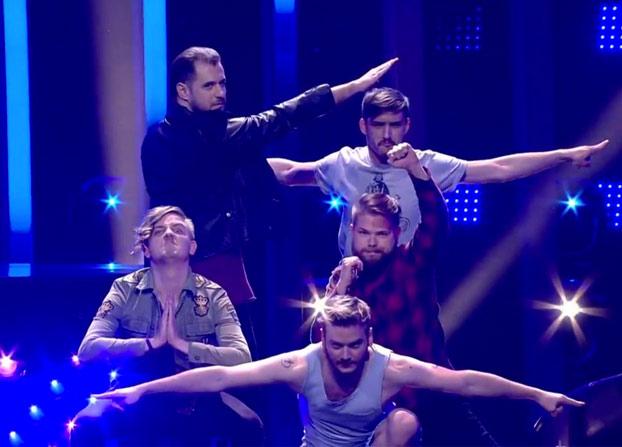 Hungría se merecía ganar Eurovisión solamente por la formación que hicieron