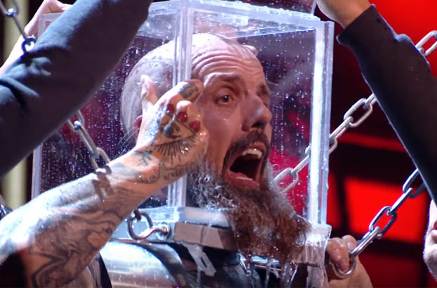El ilusionista Matt Johnson a punto de morir ahogado en el Got Talent británico