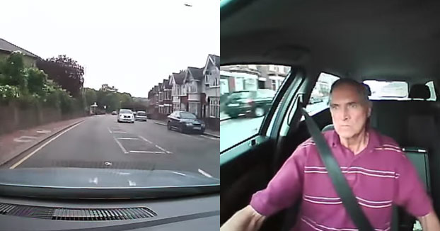 Ve como un chico le roba la bicicleta, se sube en el coche y empieza a buscarlo por todo el barrio