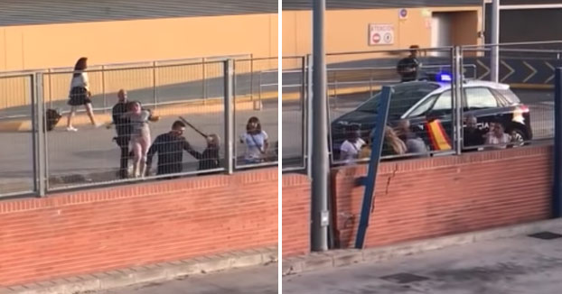 Tres jóvenes detenidas por agredir a un policía de Málaga