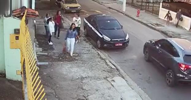 Nueva técnica de robo en las calles de Brasil