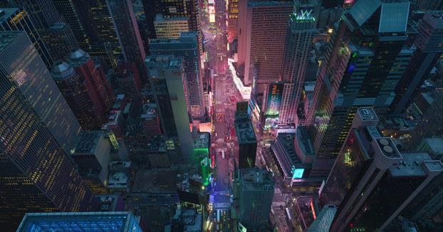 Nueva York grabado a 12K