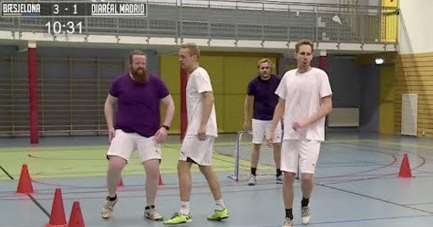 Partido de fútbol en el que los jugadores tomaron laxante antes de empezarlo