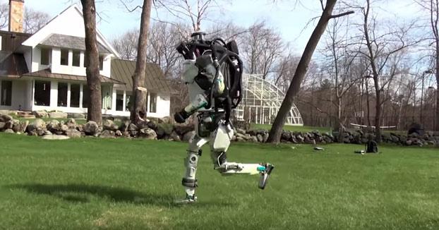 Atlas, el robot humanoide que ha aprendido a correr