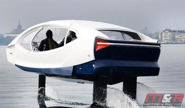 """El """"Sea Bubble"""", un taxi acuático para atravesar París"""