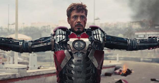Todos los trajes utilizados por Iron Man en sus películas