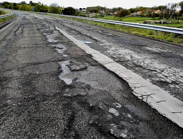 No es Zambia ni Bangladesh, es la N-540 tramo Ourense - Lugo