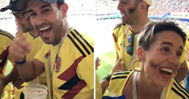 Así es cómo estos colombianos burlaron la seguridad rusa y metieron alcohol en el estadio