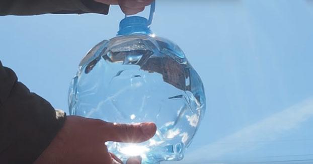 Lanzan en Rusia una botella de agua en forma de balón por el Mundial. Muy original pero tiene un peligroso defecto