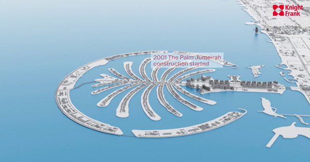 La increíble evolución de Dubai desde 1960 hasta 2021