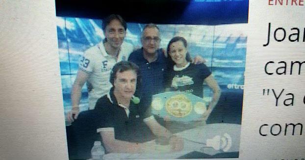El viernes Joana Pastrana se proclamó campeona del mundo de boxeo. Ayer le hicieron esta entrevista