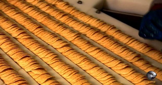 Así es cómo se hacen las patatas Pringles