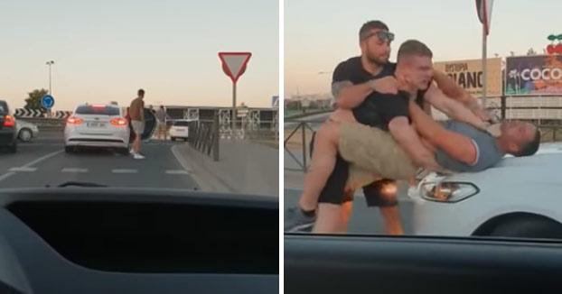 Detenidos cuatro turistas ingleses después de una pelea en una rotonda de Ibiza
