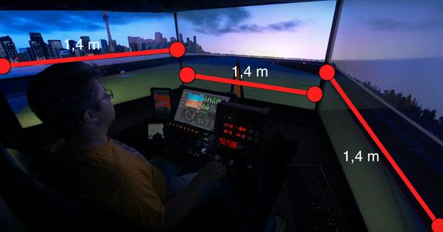 X-Plane 11, el primer sistema profesional de simulación de vuelo con 12K de resolución