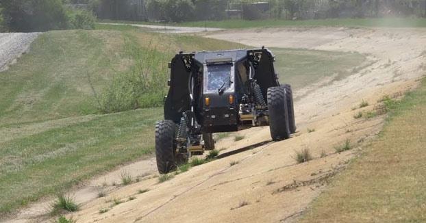 Demostración de la tecnología Ground X-Vehicle de DARPA