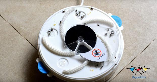 Trampa electrónica para moscas
