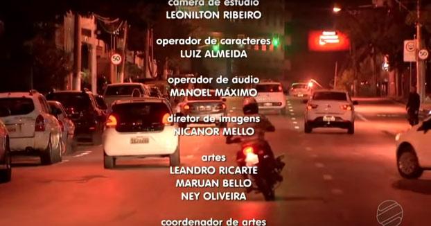 Un telediario cierra con unas imágenes del tráfico en la ciudad y justo en ese momento se produce un accidente