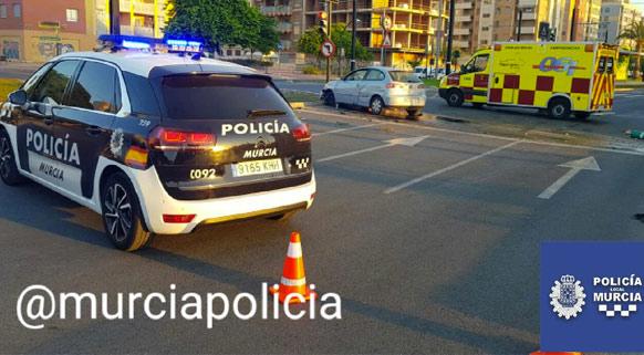 Se estrella con su coche en Murcia y se pone a hacer flexiones para intentar no dar positivo