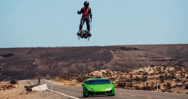Ser el Duende Verde ya es posible gracias a este Flyboard