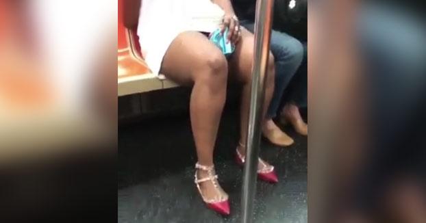 Mientras tanto, en el metro de Nueva York...