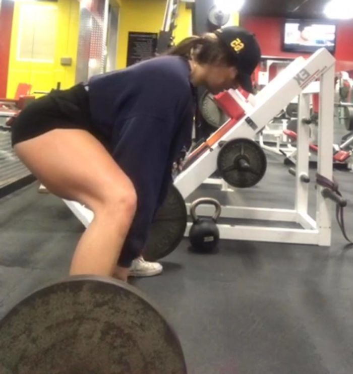 Esta chica pesaba 176 kilos y esta es su transformación después de 3 años de ejercicio
