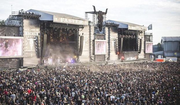 Una pareja de ancianos se escapa de una residencia para ir al festival de metal más grande del mundo