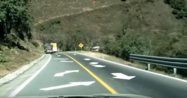 La carretera mas peligrosa de México. Bajando las cumbres de Acultzingo