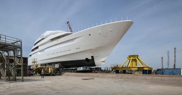 La construcción de este barco de 87 metros que tardó en construirse 3 años resumido en 5 minutos