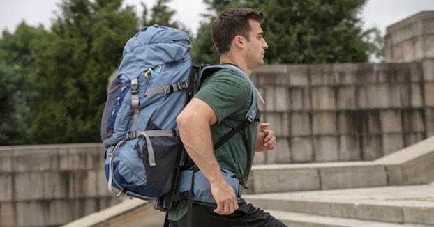 La mochila flotante