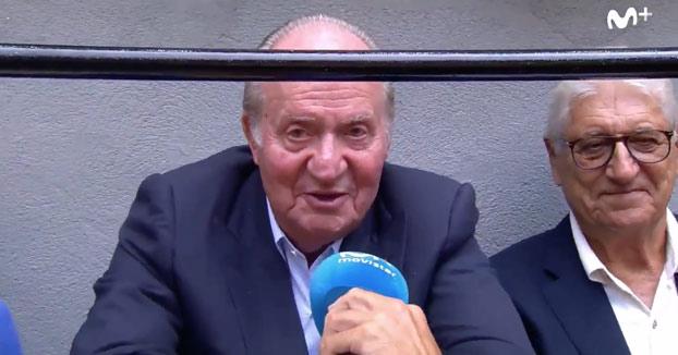 El rey Juan Carlos I: ''Me encanta ir donde haya buenas corridas''