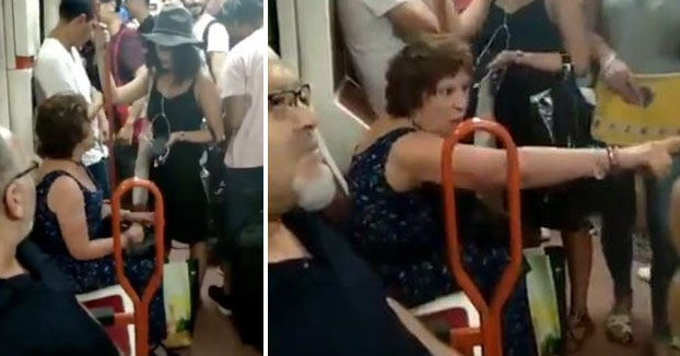 Pasajeros del metro de Madrid denuncian el comportamiento racista de una señora que negó el asiento a una niña por no ser española