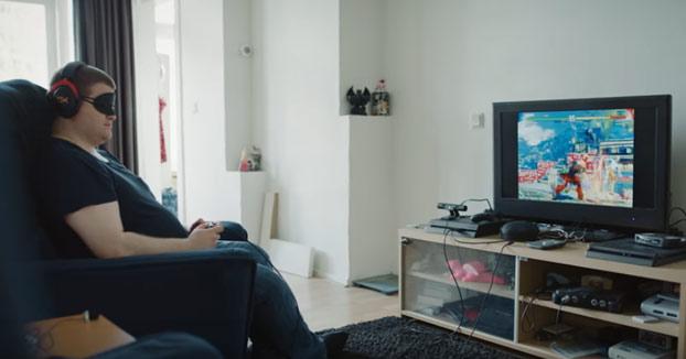 Se llama Sven y aspira a ser jugador profesional de videojuegos siendo ciego jugando a Street Fighter