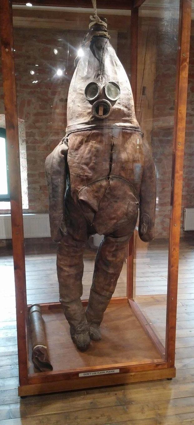 ''The Old Gentleman'', el traje de buceo más antiguo del mundo