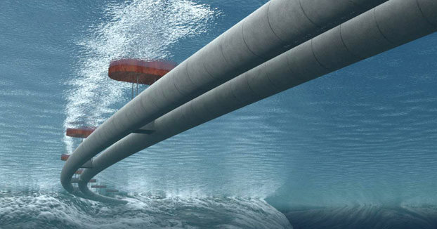 El túnel subterráneo que pretende desplegar el gobierno noruego por todo el país