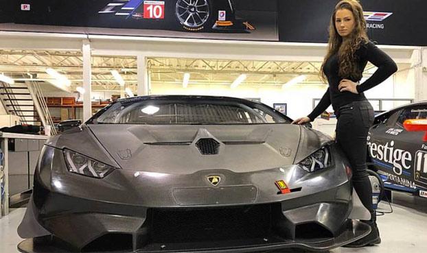 Tremendo Accidente De La Piloto Sheena Monk Se Estrella Con Su Lamborghini A 200 Km H