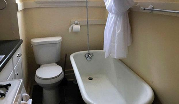 Se alquila apartamento por 450 euros al mes con baño en la misma cocina