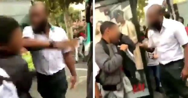 Polémica en Francia por la bofetada de un conductor de autobús a un adolescente