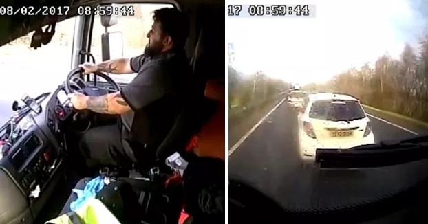 Un camionero se distrae 18 segundos con el móvil antes de accidentarse matando a una mujer