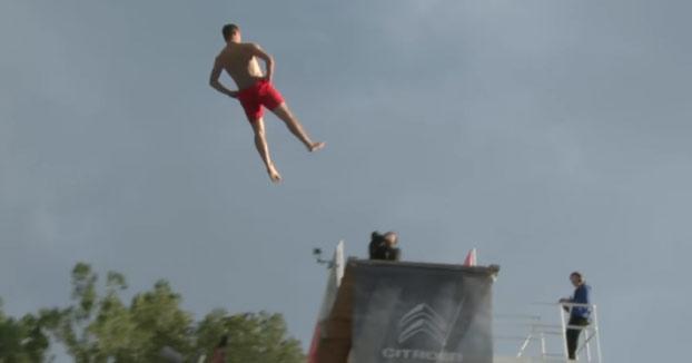 La final del Campeonato Mundial de saltos de la muerte