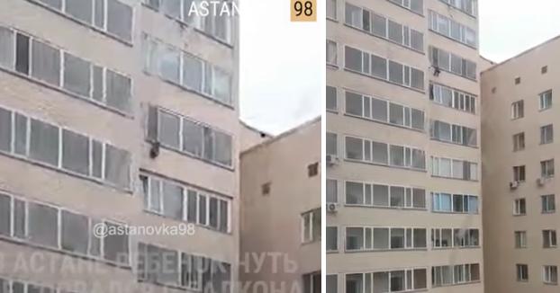 Un niño de 7 años cae de un décimo piso y el vecino del noveno lo atrapa al vuelo