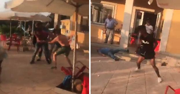 Cuatro personas heridas en una pelea en una piscina cercana a Lugo [Vídeo]