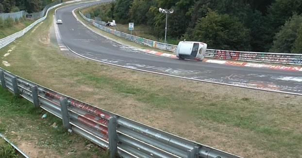 La salvada del año en Nürburgring Nordschleife
