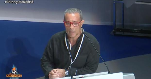 Un socio del Real Madrid se queja a Florentino de que en la final de Kiev la policía le hablase en inglés