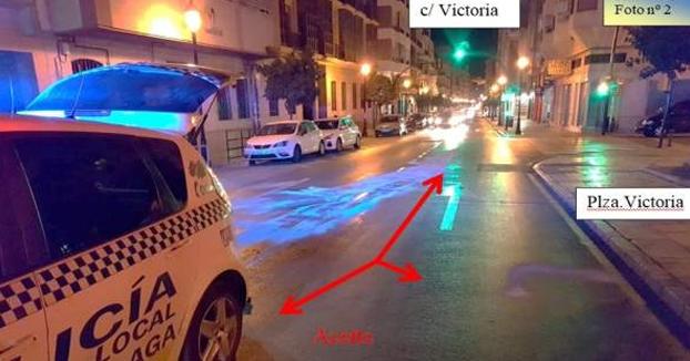 Detenido por derramar cuatro litros de aceite de oliva en la carretera para ''ver si la gente se mata''