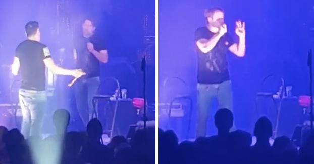 Los insultos de Andy y Lucas a una concejala de Fiestas en pleno concierto: ''Mamarracha, va ciega perdida''