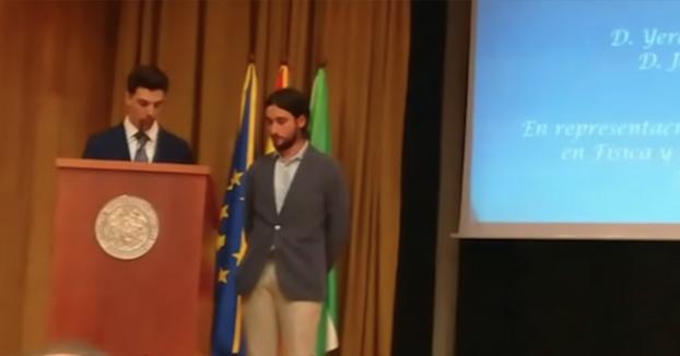 Discurso de graduación de Física de la Universidad de Sevilla