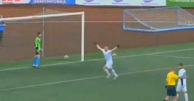 Norik Avdalyan, 22 años: Golazo de penalti con mortal hacia atrás