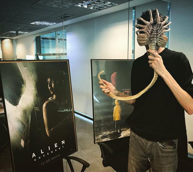 Javier Botet, el 'monstruo' español más solicitado del cine